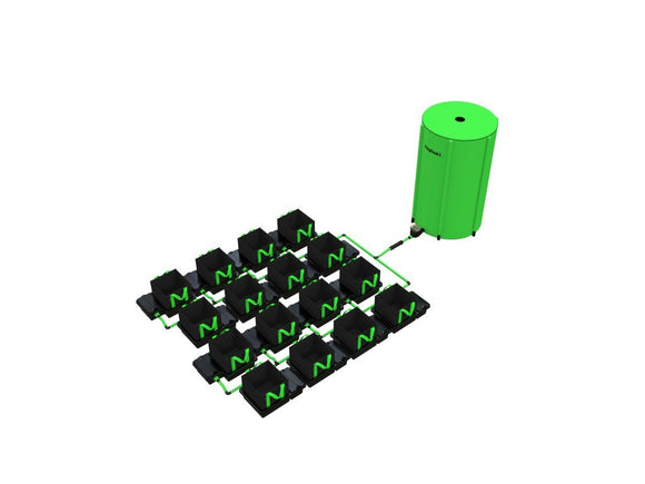 18 POT 10LTR/16LTR/22LTR/30LTR EASYFEED™ SYSTEM - led grow lights KingOfLeds