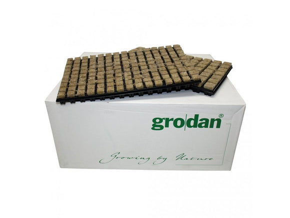 GRODAN sifting cubes 25x25x40mm in sifter 150pcs, box 18 sifters - led grow lights KingOfLeds