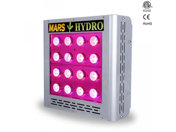 Mars Pro II epistar 80 LED grow light 150w - led grow lights KingOfLeds