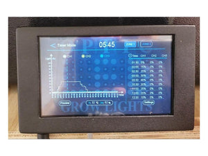 "OpticLED Master Controller - 7"" Touchscreen - Dimmer Controls - Automated Sunrise and Sunset - led grow lights KingOfLeds"