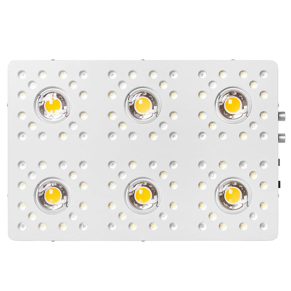 Optic 6 Gen4 Dimmable COB LED Grow Light 570w (UV/IR) 3000k & 5000k COBs - led grow lights KingOfLeds