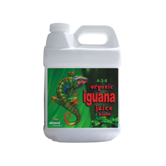 ADV NUTRIENTS - IGUANA JUICE ORGANIC BLOOM - led grow lights KingOfLeds