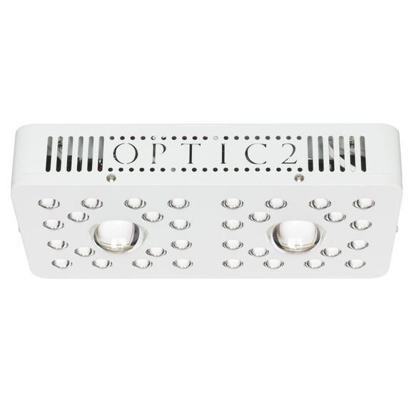OPTIC 2 COB LED GROW LIGHT 205W (UV/IR) 3000k & 5000k COBs