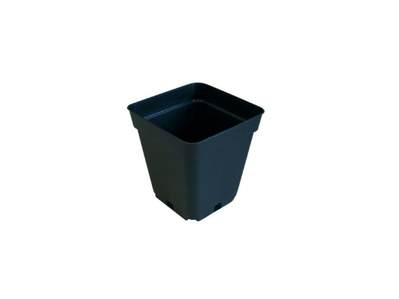 TEKU soft square flower pot 15x15x20cm, 4L - led grow lights KingOfLeds