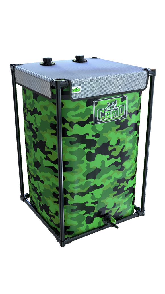 280LTR CAMO® Tank - led grow lights KingOfLeds
