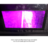 Gorilla GGT44 SH SHORTY Indoor Grow Tent 122x122x150/173 cm (4'x4') - led grow lights KingOfLeds