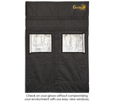 Gorilla GGT24 SH SHORTY Indoor Grow Tent 61x122x150/173 cm (2'x4')