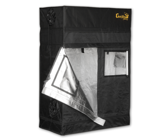 Gorilla GGT24 SH SHORTY Indoor Grow Tent 61x122x150/173 cm (2'x4') - led grow lights KingOfLeds