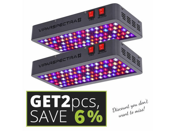 Viparspectra V450 set 2 pcs  PRE-ORDER - led grow lights KingOfLeds