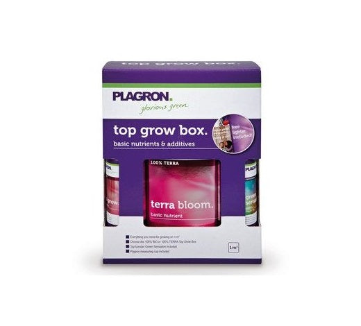 Plagron Terra Top Grow Box - led grow lights KingOfLeds