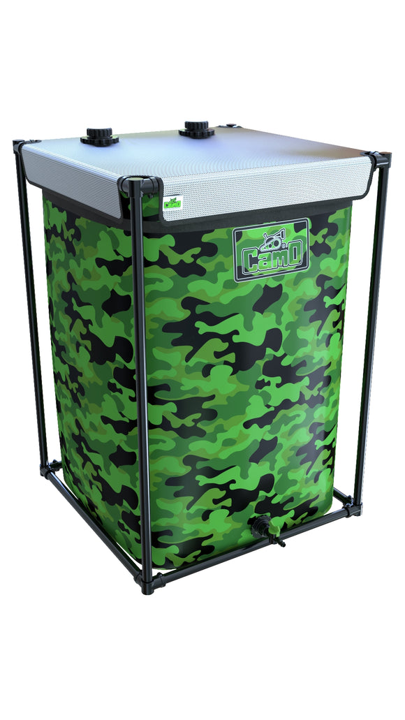550LTR CAMO® Tank - led grow lights KingOfLeds
