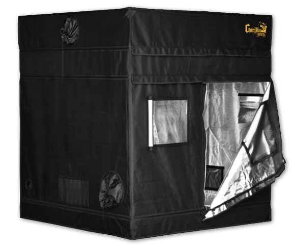Gorilla GGT55 SH SHORTY Indoor Grow Tent 152x152x150/173 cm (5'x5') - led grow lights KingOfLeds