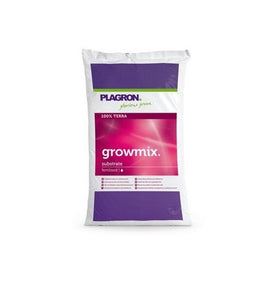 Plagron Growmix with perlit, 25L - led grow lights KingOfLeds