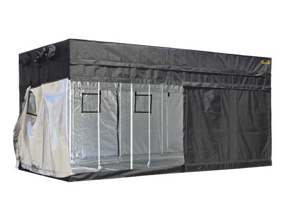 Gorilla GGT816 ORIGINAL Grow Tent 244x488x210/240 cm (8'x16') - led grow lights KingOfLeds
