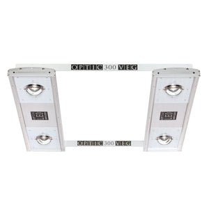 Optic 300 VEG Dimmable LED Grow Light 300w 5000k COBs - led grow lights KingOfLeds