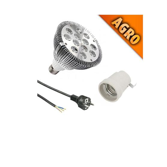 SONLIGHT PAR38 AGRO + E27 + 2MT CABLE - led grow lights KingOfLeds