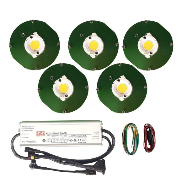 250W - CXB3070 High power COB grow kits - led grow lights KingOfLeds