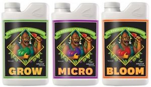 ADV NUTRIENTS - PH PERFECT PACK (GROW, MICRO, BLOOM) - led grow lights KingOfLeds