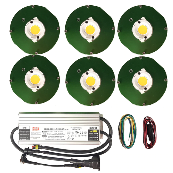 300W - CXB3070 High power COB grow kits - led grow lights KingOfLeds