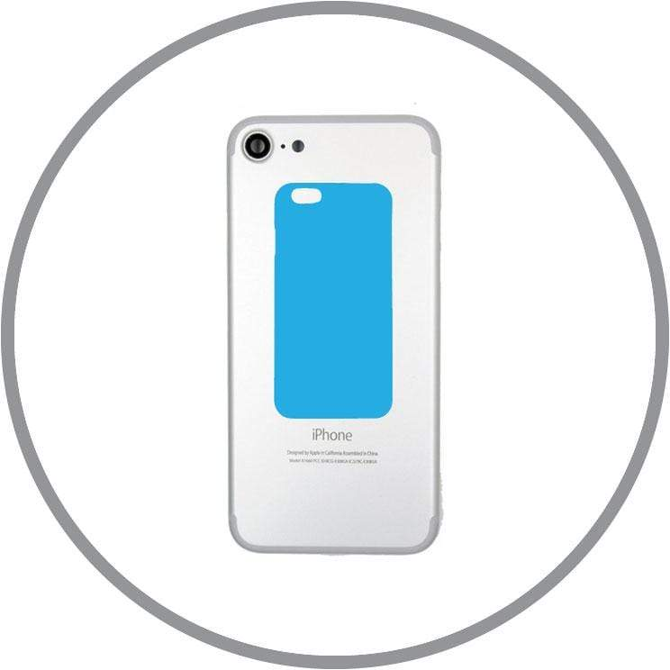 Jet Black / In-store Repair iPhone 7 Back Casing Replacement celltechmobilerepairs