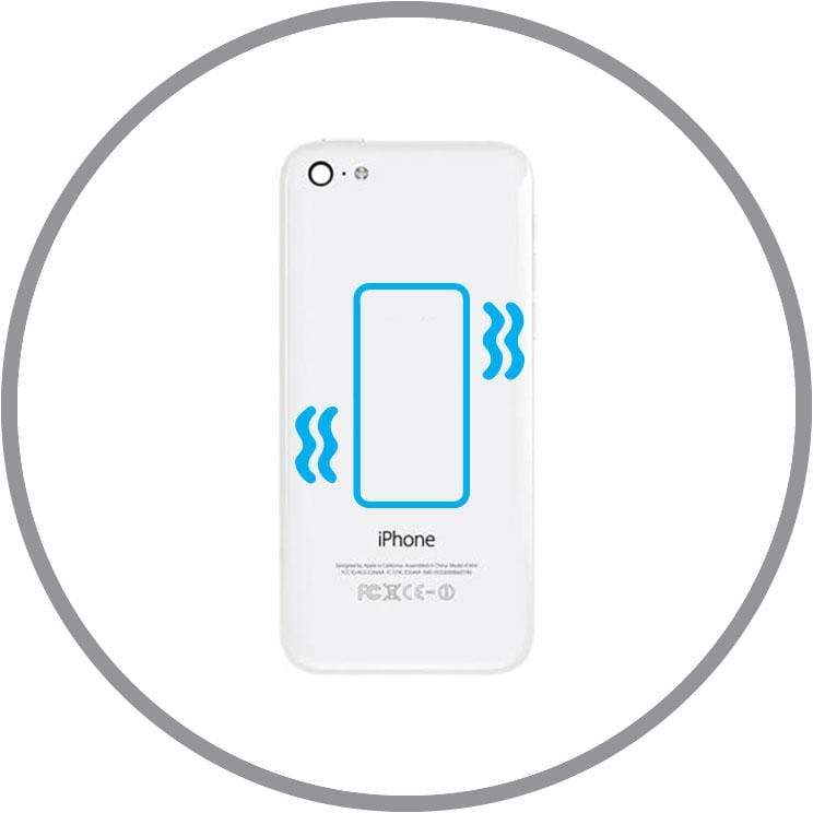 repair In-store Repair iPhone 5C Vibration Repair celltechmobilerepairs