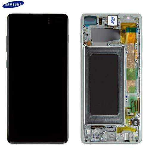 repair White / In-store Repair Samsung Galaxy S10 Plus Screen Repair celltechmobilerepairs