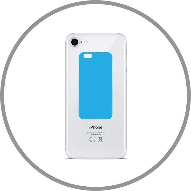 Silver / In-store Repair iPhone 8 Back Glass Replacement celltechmobilerepairs