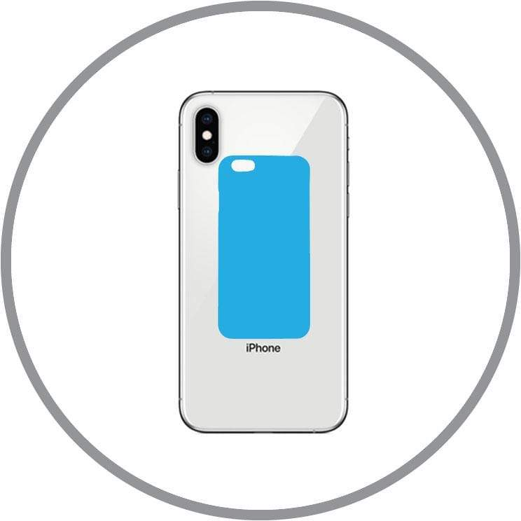 Space Grey / In-store Repair iPhone XS Max Back Glass Replacement celltechmobilerepairs