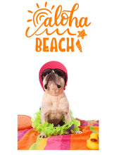 Load image into Gallery viewer, ALOHA BEACH WALL STICKER