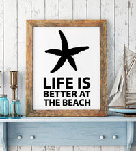 Load image into Gallery viewer, Beach wall decal from whimsidecals.com