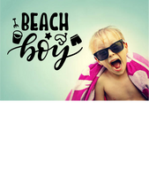 Load image into Gallery viewer, BEACH BOY WALL STICKER
