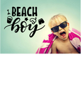 BEACH BOY WALL STICKER