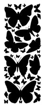 Load image into Gallery viewer, BLACK BUTTERFLY WALL DECALS
