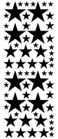 BLACK STAR DECALS
