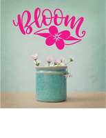 BLOOM WALL DECAL