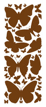 Load image into Gallery viewer, BROWN BUTTERFLY WALL DECALS