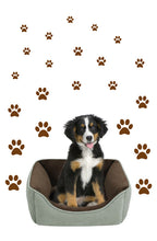 Load image into Gallery viewer, BROWN PAW PRINT STICKERS