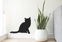 Load image into Gallery viewer, CAT SILHOUETTE STICKER