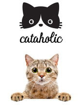 Load image into Gallery viewer, CATAHOLIC FUNNY PET WALL DECAL
