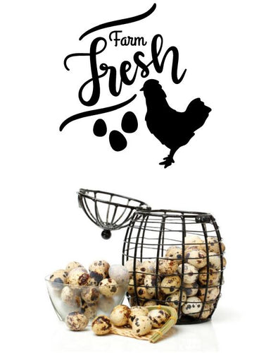 FARM FRESH WALL STICKER