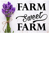 Load image into Gallery viewer, FARM SWEET FARM WALL DECAL