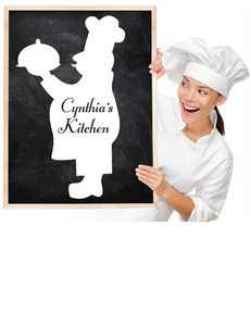 CUSTOM KITCHEN WALL DECAL