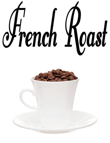 FRENCH ROAST COFFEE WORD WALL STICKER
