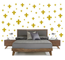 Load image into Gallery viewer, GOLD FLEUR DE LIS WALL DECOR