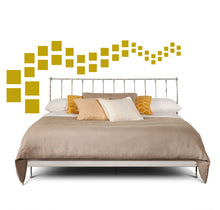 Load image into Gallery viewer, SQUARE WALL DECALS IN GOLD