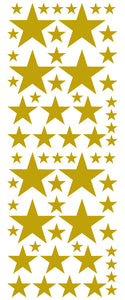 GOLD STAR DECALS