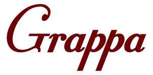 GRAPPA WALL DECAL MAROON