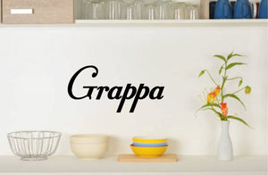 GRAPPA WALL DECAL