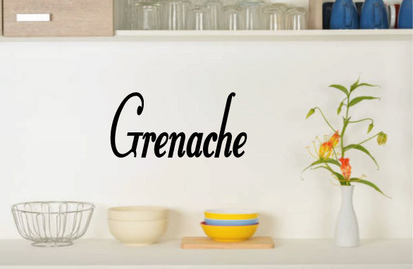 GRENACHE WALL DECAL