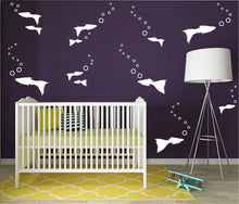 Load image into Gallery viewer, GUPPIES WALL STICKERS